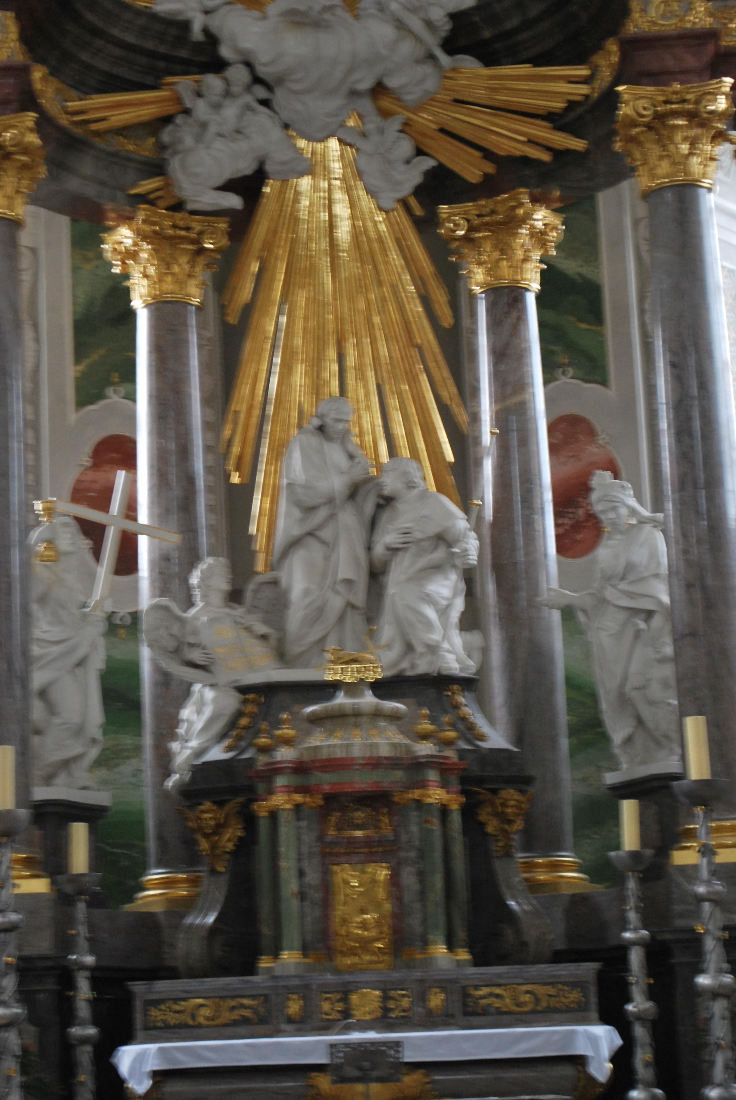 mannheim baroque altar