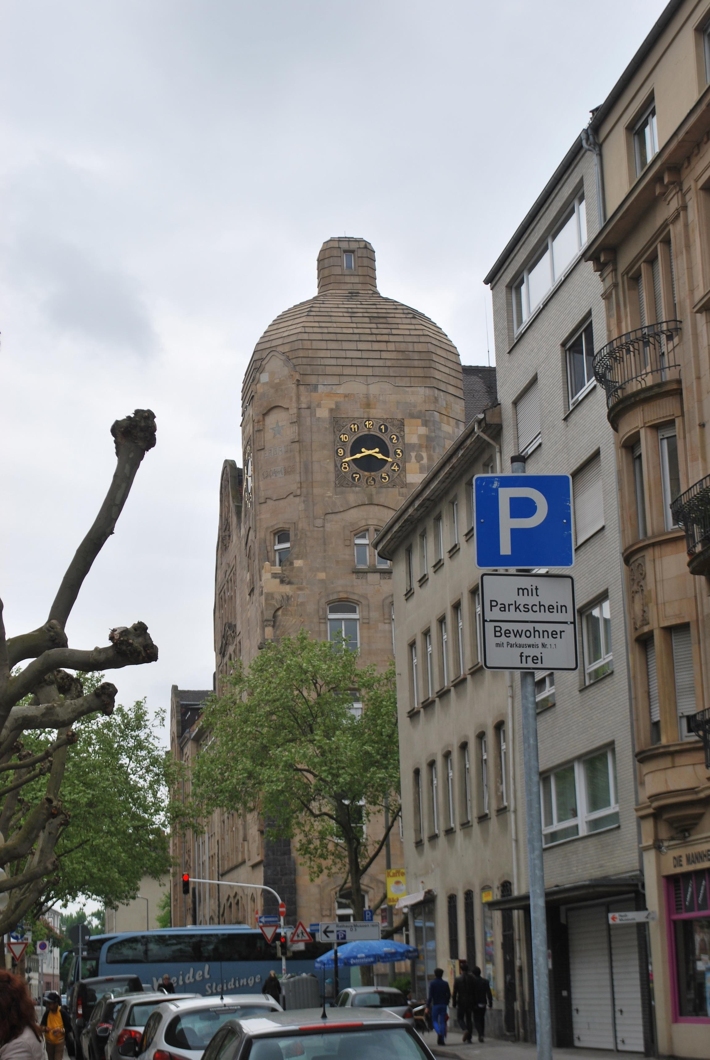 mannheim street scene