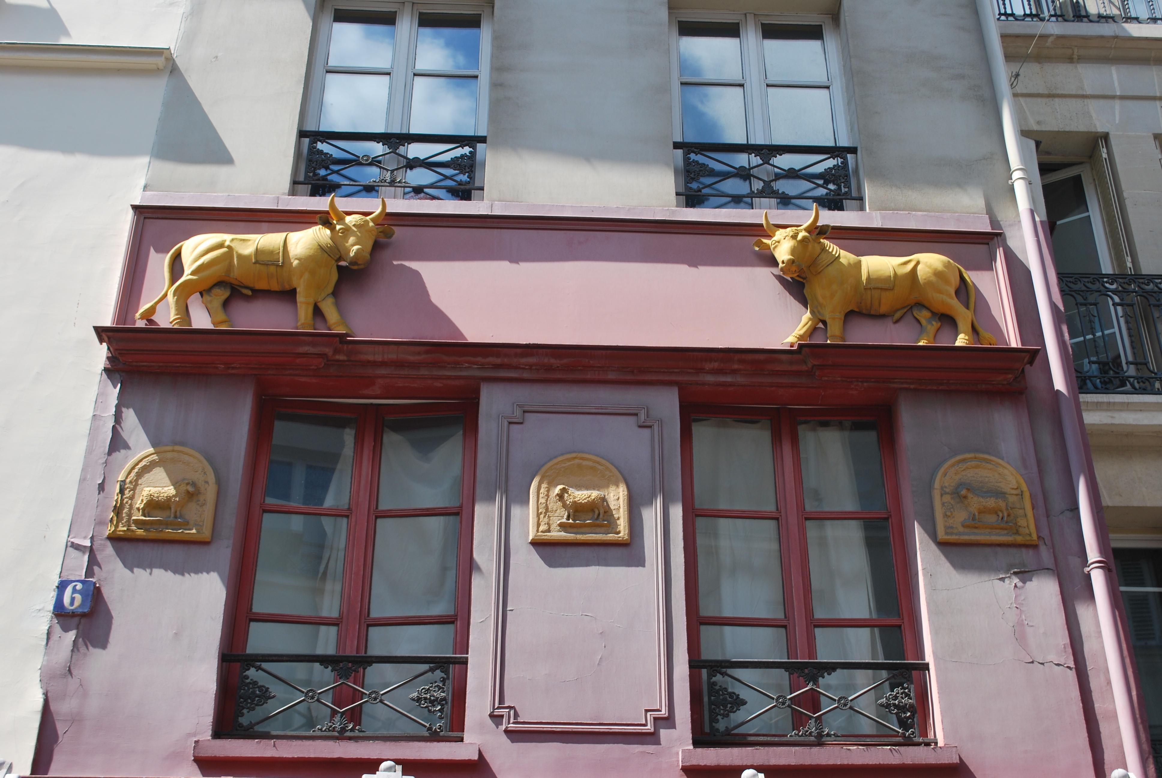 facade-old-butcher-shop-paris