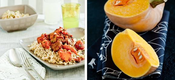 Lamb Pumpkin & Apricot Tagine, by Meeta Khurana Wolff