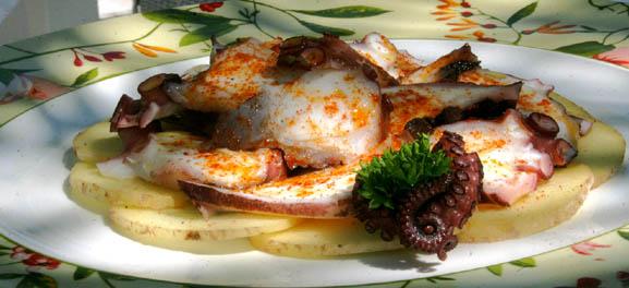 Food Art: Classic Spanish octopus, by Steve Homer