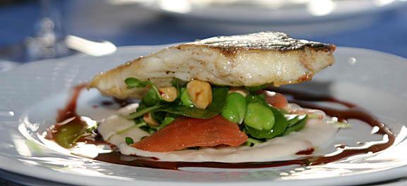 Food Art: Spanish sea bream composition, by Steve Homer