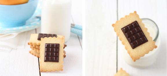 Food Art: Petit Ecolier cookies, by SandeeA
