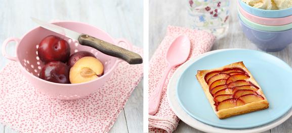 Food Art: Plum Tartelettes, by SandeeA