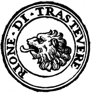 Rome Rione di Trastevere Logoastevere_logo