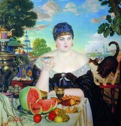 Boris Kustodiev, The Merchants Wife, 1898