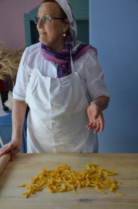 Nonna Violante in Bellaria-Igea Marina, Italy, cooking school, making passatelli pasta, Hotel Eliseo, #lovingromagna