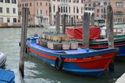 Venetian wine transport boat