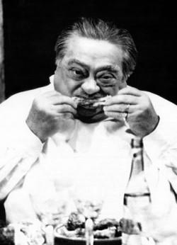 cesaro eating abbacchio romana