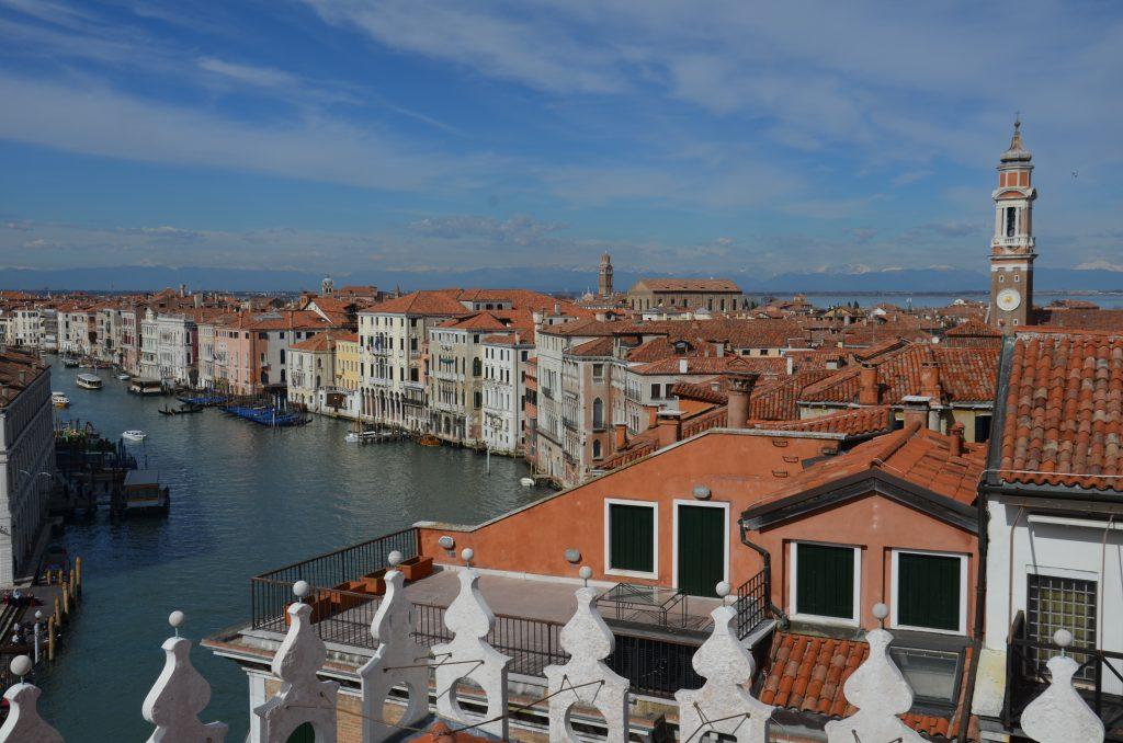 Fondaco dei Tedeschi Venice LVMH rooftop view