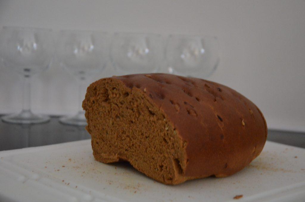 Whole-grain bread, San Tomà, Venice