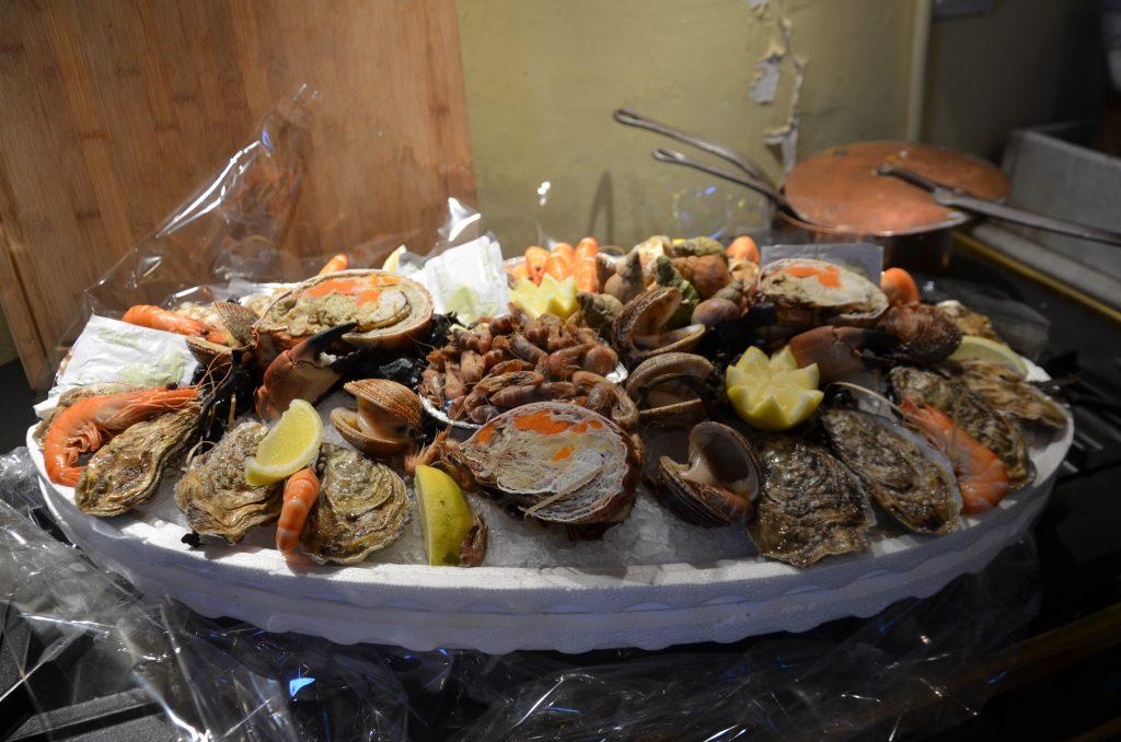 seafood platter normandy plateau de fruits de mer france