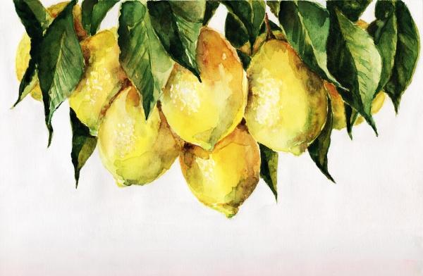 Lemon Tree, painting
