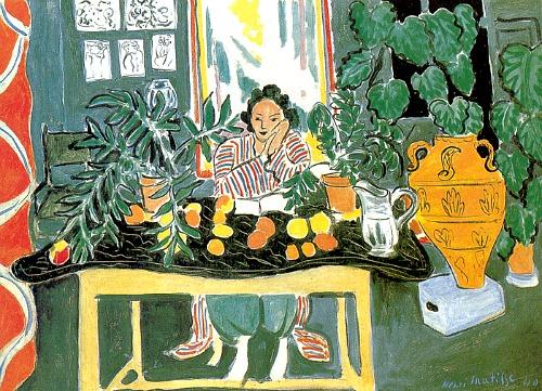 Matisse Still Life Oranges Lemons